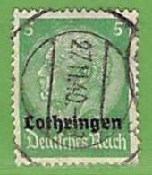 MiNr.3 O Deutschland Besetzte Gebiete II.WK Lothringen - Ocupación 1938 – 45
