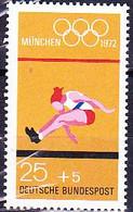 BRD FGR RFA - Olympiade München Weitsprung (MiNr: 734) 1972 - Postfrisch MNH - Nuevos
