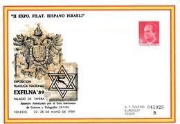 España Sobre Entero Postal Nº 13 CON SOBRECARGA - 1931-....