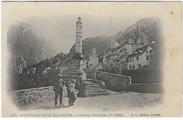 65 SAINT SAUVEUR MONTREUR D OURS 1900 ANIMATION JOLI PLAN - Sonstige Gemeinden