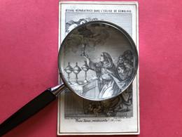 Œuvre Réparatrice Dans église De Gembloux édit Poitiers 1877 Namur - Unclassified