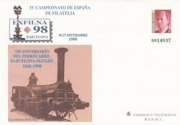 España Sobre Entero Postal Nº 48 - 1931-....