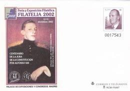 España Sobre Entero Postal Nº 83 - 1931-....