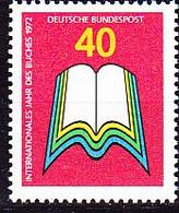 BRD FGR RFA - Jahr Des Buches (MiNr: 740) 1972 - Postfrisch MNH - Nuevos