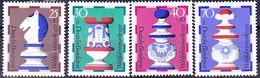 BRD FGR RFA - Schachfiguren (MiNr: 742/5) 1972 - Postfrisch MNH - Nuevos