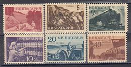 Bulgaria 1949 - Pour La Jeunesse Democratique, YT 610/15, Neufs** - Unused Stamps