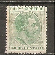 Filipinas - Edifil  70 - Yvert Sello Para Impresos 4  (MH/*) - Philippinen