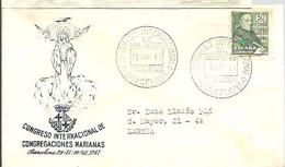 MATASELLOS 1947  TEMA RELIGIOSO - 1931-50 Cartas