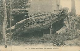 37 CROUZILLES /  Le Dolmen Saint Lazarz / - Otros Municipios