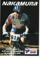 JEANNIE LONGO  SIGNEE  NAKAMURA - Cycling