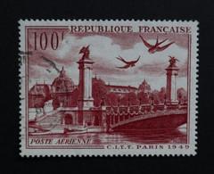 28) Timbre Poste Aérienne N° 28 Oblitéré       -----------Cote: 7.00 € - 1927-1959 Used