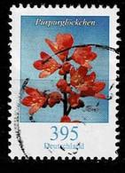Bund 2014,Michel 3117 O Blumen: Purpurglöckchen - Usados