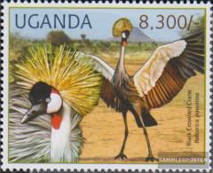 Uganda 2804 (complete Issue) Unmounted Mint / Never Hinged 2012 Rare Animals - Uganda (1962-...)