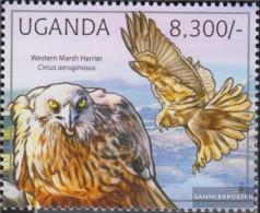 Uganda 2794 (complete Issue) Unmounted Mint / Never Hinged 2012 Birds Of Prey - Uganda (1962-...)