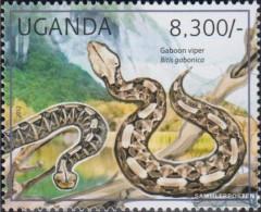 Uganda 2784 (complete Issue) Unmounted Mint / Never Hinged 2012 Reptiles - Uganda (1962-...)