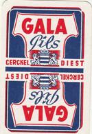1  Speelkaart  -  Gala  Pils  -  Diest - Unclassified