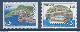 ⭐ Monaco - YT N° 1136 Et 1137 - Neuf Sans Charnière - 1978 ⭐ - Ungebraucht