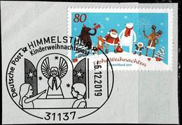 Bund 2019,Michel# 3504 O Weihnachten Mit Sonderstempel Himmelsthür - Usados