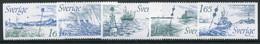 SWEDEN 1982 International Buoyage System MNH / **.  Michel 1196-1200 - Nuevos
