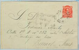 94002  - ARGENTINA - POSTAL HISTORY - STATIONERY COVER Jalil # Sob 16 1890 - Ganzsachen