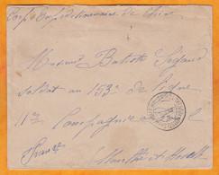 1901 - CORPS EXPEDITIONNAIRE DE CHINE - Enveleppe En Franchise Militaire Vers Toul, M & M - Non Classificati