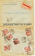 Hongrie, De Budapest En 1926 Daguin  Foire Internationale  ( En Français  Et Hongrois)  Pour  Lyon  Tarif Expres  TB - Storia Postale