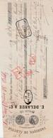 1879 TRAITE E DELARUE FABRIQUE DE GLUCOSE à PORT SALUT OISE - 1800 – 1899