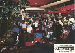 Affeltrangen - Restaurant Bar Blauer Aff           Ca. 1970 - TG Thurgovie