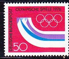 BRD FGR RFA - Olympiade Innsbruck (MiNr: 875) 1976 - Postfrisch MNH - Nuevos