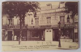 Carte Postale Société Centrale Vichy Fabrique De Pastilles Les Dominicains 1924 - Vichy