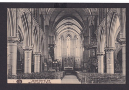 Ansichtskarte Lichtervelde Belgien Kirche Innenansicht 09.12.1917 - Unclassified
