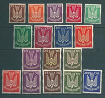 Flugpost Komplett MiNr. 210-218 **, 235-237 **, 263-267 ** - Unused Stamps