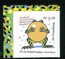 Bund 2018: Mi.-Nr. 3364: Aus MH 108 Wohlfahrt: Grimms Märchen    ** - Nuevos