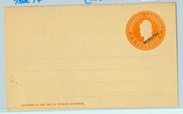 94011 - ARGENTINA - POSTAL HISTORY - STATIONERY COVER Jalil # Tar 17  SPECIMEN - Ganzsachen