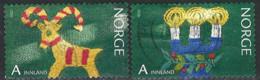 Norwegen Norway 2010. Mi.Nr. 1738-1739, Used O - Usati