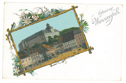 GER 68 - 17274 WEISSENFELS, Litho, Germany - Old Postcard - Unused - Weissenfels