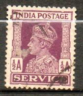 INDE Service Georges VI 1939-43 N° 107 - 1936-47  George VI