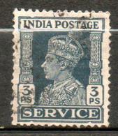 INDE Service Georges VI 1939-43 N° 105 - 1936-47  George VI