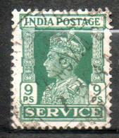 INDE Service Georges VI 1939-43 N° 108 - 1936-47  George VI