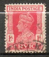 INDE Service Georges VI 1939-43 N° 109 - 1936-47  George VI
