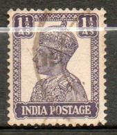 INDE  Georges VI 1939-43 N° 166 - 1936-47  George VI