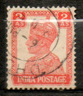 INDE  Georges VI 1939-43 N° 167 - 1936-47  George VI