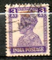 INDE  Georges VI 1939-43 N° 168 - 1936-47  George VI