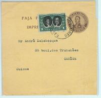 94016 - ARGENTINA - POSTAL HISTORY - STATIONERY  WRAPPER Franking To SWITZERLAND - Ganzsachen
