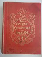 France 193? -Yvert Et Tellier - Album Historique Et Géographique De Timbres-poste - Plus De 470 Timbres - Collections (with Albums)