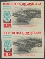 DOMINIKANISCHE REPUBLIK 1960 Weltflüchtlingsjahr 9 C. Und 13 C. U/M IMPERFORATED - República Dominicana