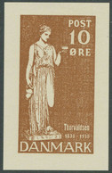 DENMARK 1938 100th Anniversary Of The Return Of Bertel Thorvaldsen To Copenhagen - Briefe U. Dokumente