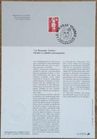 FDC Sur Document - YT N°2806 - LE NOUVEAU TIMBRE / MARIANNE DU BICENTENAIRE - 1993 - 1990-1999