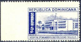 DOMINIKANISCHE REPUBLIK 1952 5 C Hospital Dr. Salvador B. Gautier ** U/M VARIETY - República Dominicana