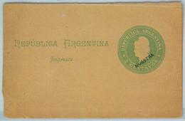 94019 - ARGENTINA - POSTAL HISTORY - STATIONERY COVER Jalil # Faj 27  SPECIMEN - Ganzsachen